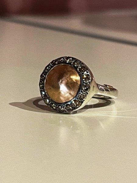 Rosa Maria Julia Silver and Diamond Ring