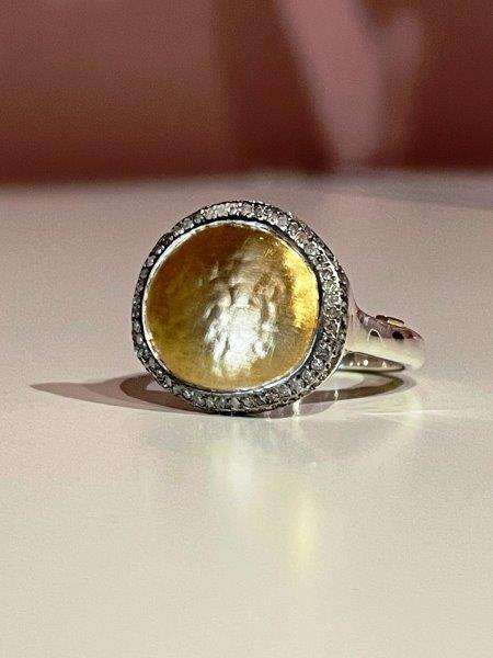 Rosa Maria Cassius 61 diamond Ring