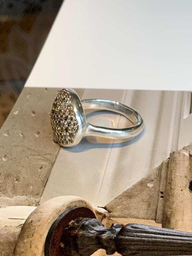 Rosa Maria Ousma 70 Diamond Ring